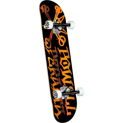 Powell Peralta Vato Rat Sunset Black Complete Skateboard - 7.5 x 28.65