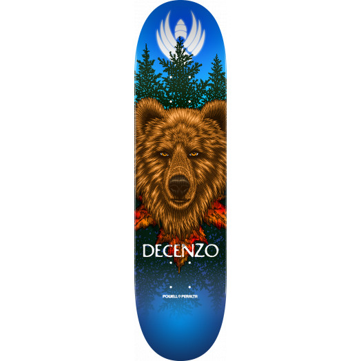 Powell Peralta Pro Scott Decenzo Bear Flight® Skateboard Deck - Shape 248 - 8.25 x 31.95