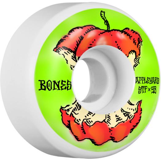 BONES WHEELS STF Pro Appleyard Apple Skateboard Wheels 53mm 4pk