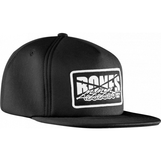 BONES WHEELS Cap Foam Trucker Black