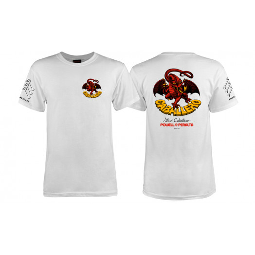 Bones Brigade® Caballero Dragon T-shirt - White