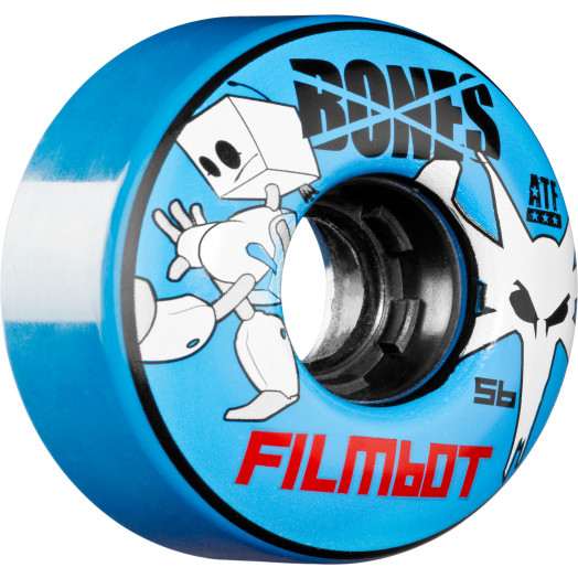 BONES WHEELS ATF Filmbot 56mm - Blue (4 pack)