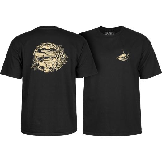BONES WHEELS Desert Bowl T-shirt Black