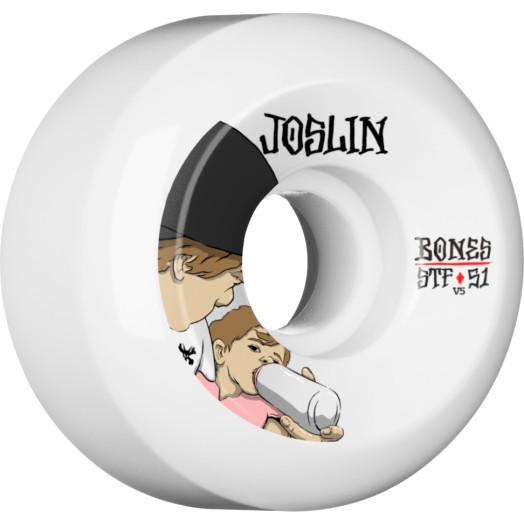 BONES WHEELS STF Pro Joslin London Skateboard Wheels V5 51mm 103A 4pk