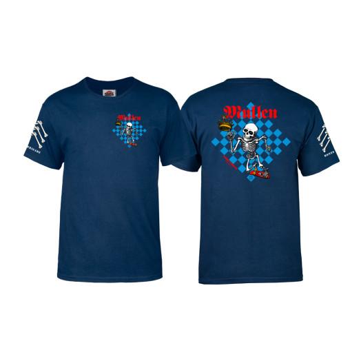 Bones Brigade® Mullen Chess T-shirt - Navy