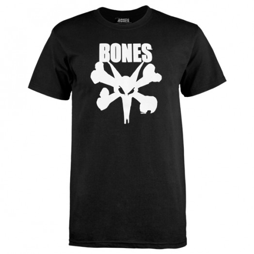 BONES WHEELS Photo-Op T-shirt - Black
