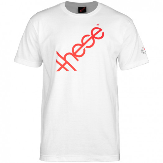 these wheels Logo T-shirt - White