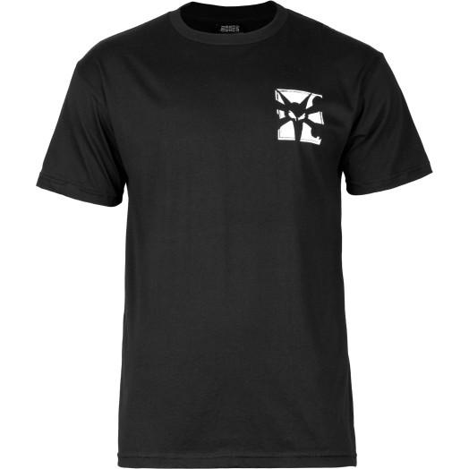 BONES WHEELS T-shirt Boxer Black