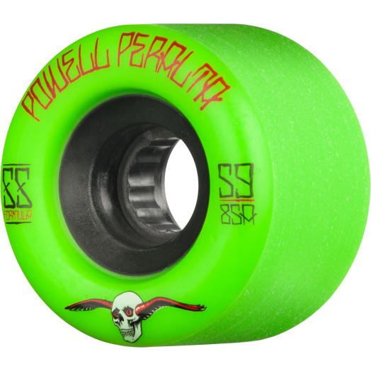Powell Peralta G-Slides Skateboard Wheels 59mm 85a 4pk Green