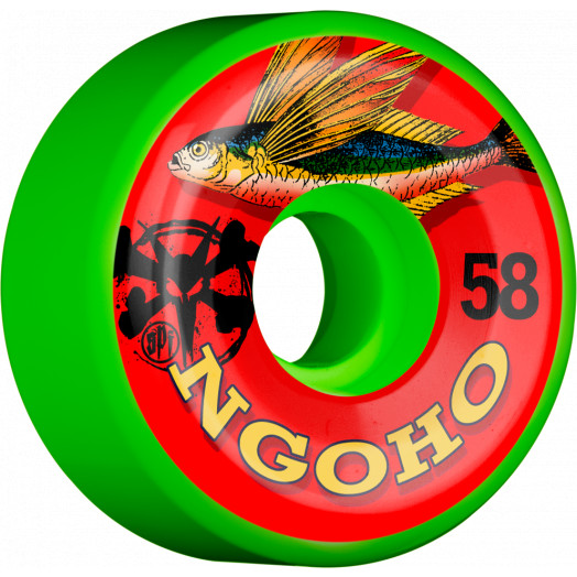 BONES WHEELS SPF Pro Ngoho Fish Wheel 58mm 4pk