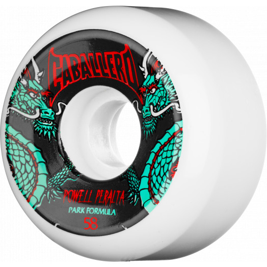 Powell Peralta Steve Caballero Dragon Wheel 58mm 4pk