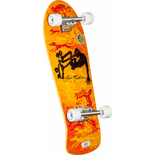 Bones Brigade® Lance Mountain 5th Series Reissue Complete Skateboard Orange - 10 x 30.75