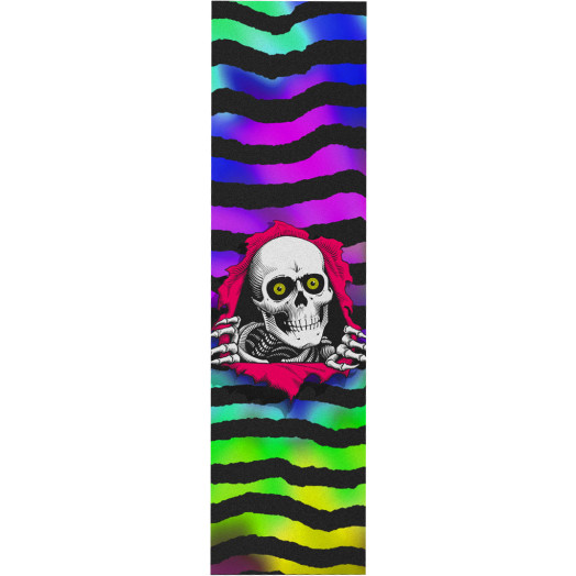 Powell Peralta Grip Tape Sheet 9 x 33 Ripper Tie-dye (White)