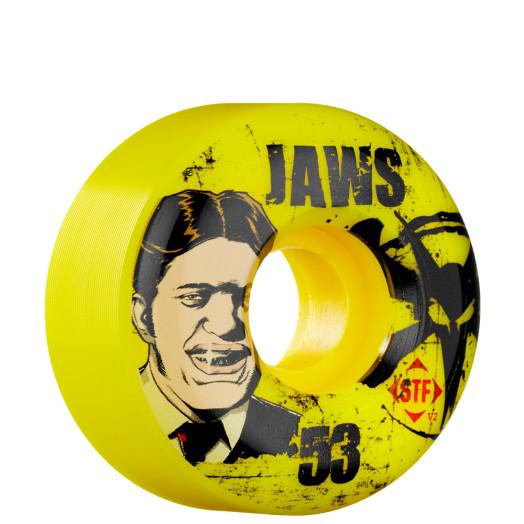 BONES WHEELS STF Pro Homoki Jawz 53mm - Yellow (4 pack)