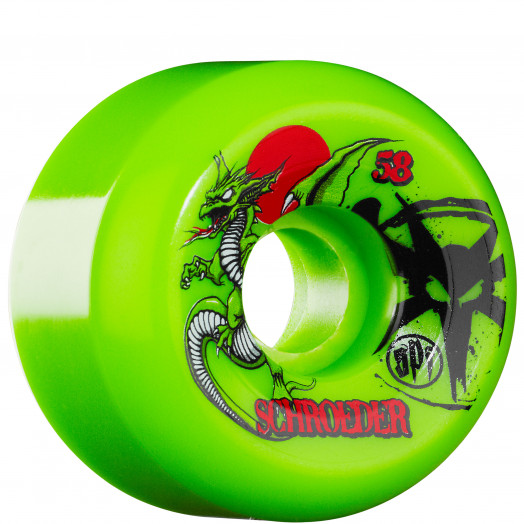 BONES WHEELS SPF Pro Schroeder Dragon 58mm Wheel (4 pack)