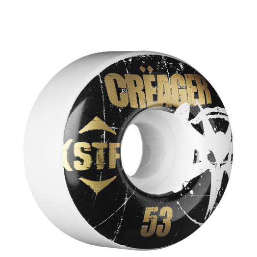 BONES WHEELS Pro Creager Rocker 53mm STF (4 pack)