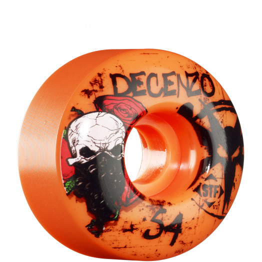 BONES WHEELS STF Pro Decenzo Wicked 54mm - Orange (4 pack)
