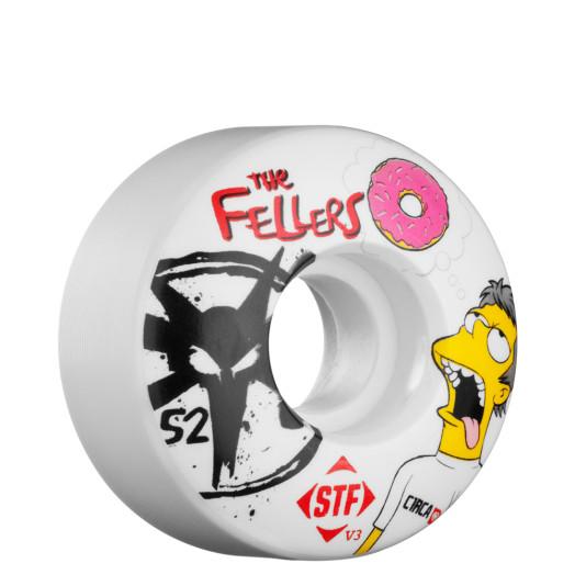 BONES WHEELS STF Pro Fellers Dohnuts 52mm Wheel (4 pack)