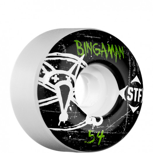 BONES WHEELS STF Pro Bingaman Oh Gee 54mm (4 pack)