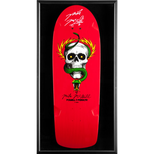 Bones Brigade Shadowbox McGill BLEM Deck Signed by McGill
