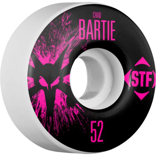 BONES WHEELS STF pro Bartie Team Wheel Splat 52mm 4pk
