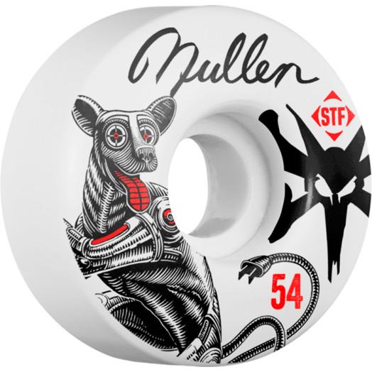 BONES WHEELS STF Pro Mullen Mutt 54mm wheels 4pk