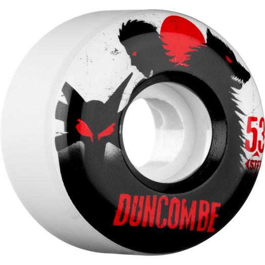 BONES WHEELS STF Pro Duncombe Werewolf 53mm 4pk