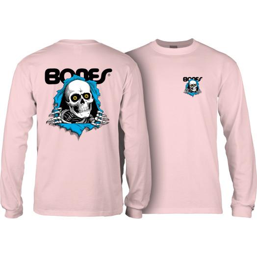 Powell Peralta Ripper L/S Shirt Lt. Pink