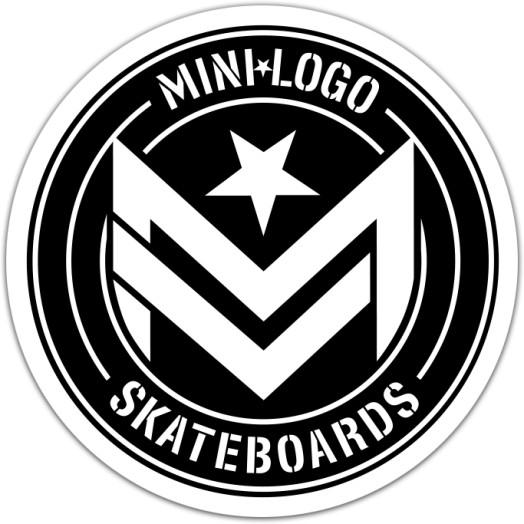 "Mini Logo Sticker Chevron ""3"" Circle Single"