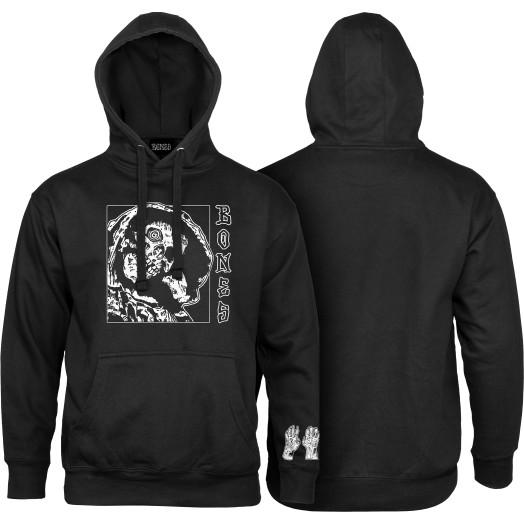 BONES WHEELS Terror Nacht Grim Sweatshirt Black