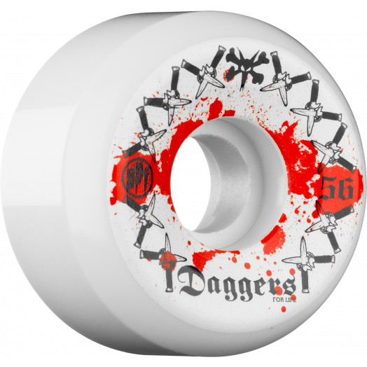 BONES WHEELS SPF Dagger 56mm (4 pack)