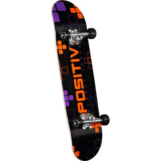 Positiv Rodney Jones Digital Series Complete Skateboard - 7.75 x 31.75
