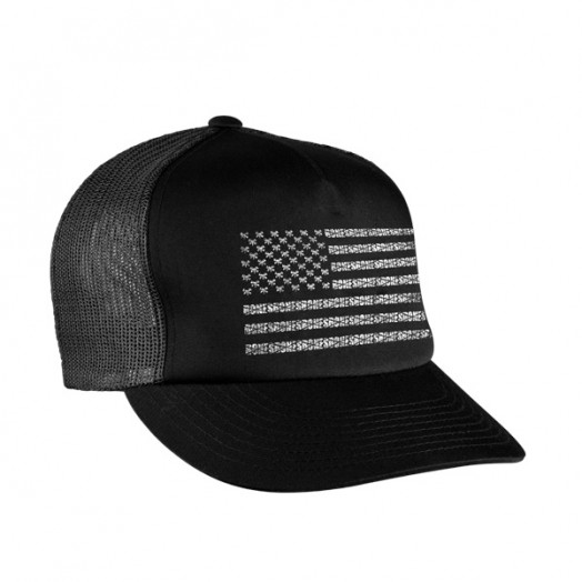 """Bones """";Flag Rat""""; Trucker Hat"""