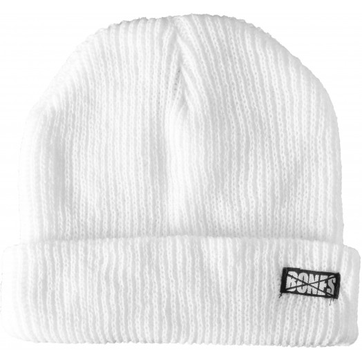 BONES WHEELS Double Deuce Beanie - White