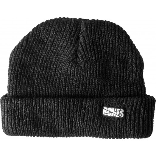 BONES WHEELS Double Deuce Beanie - Black