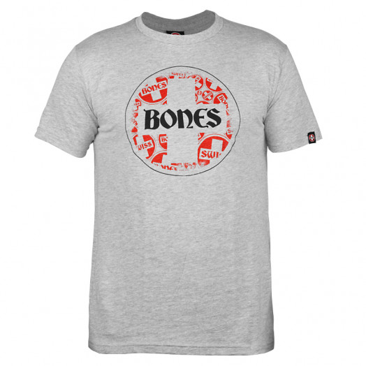 Bones® Bearings Swiss Multi Circle T-shirt - Gray