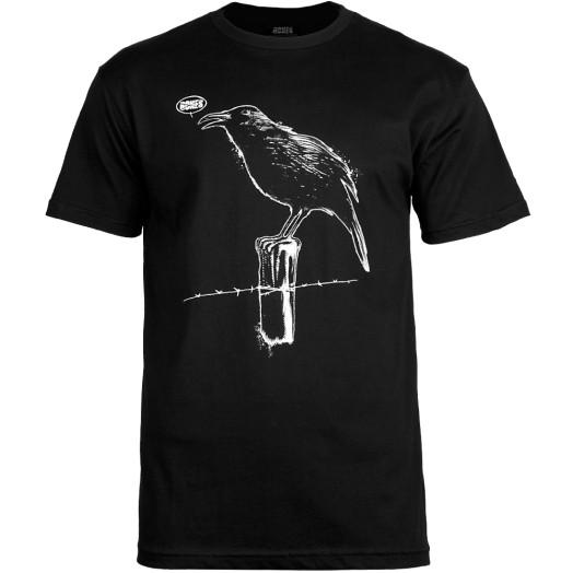 BONES WHEELS Craw T-shirt - Black