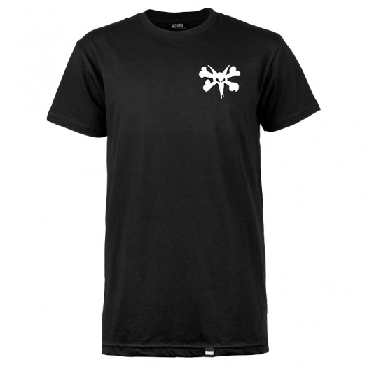 BONES WHEELS Pocket Op T-shirt - Black