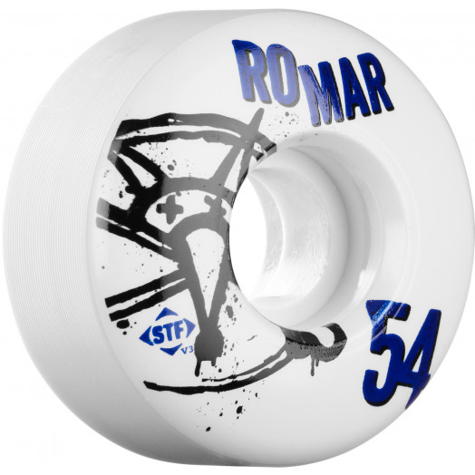 BONES WHEELS STF Pro Romar Numbers 54mm 4pk
