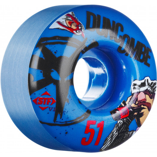 BONES WHEELS STF Pro Duncombe Bork 51mm Blue 4pk