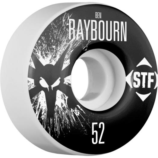 BONES WHEELS STF Pro Raybourn Team Wheel Splat 52mm 4pk