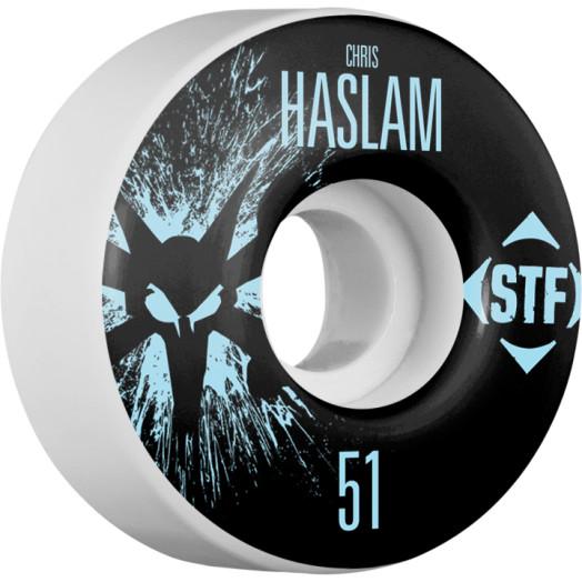 BONES WHEELS STF Pro Haslam Team Wheel Splat 51mm 4pk
