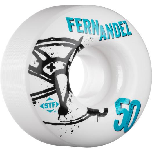 BONES WHEELS STF Pro Fernandez Numbers 50mm 4pk