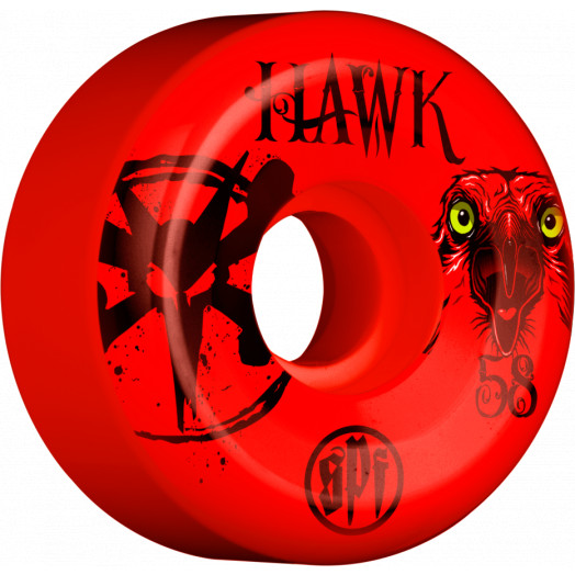 BONES WHEELS SPF Pro Hawk Eye Wheel 58mm 4pk