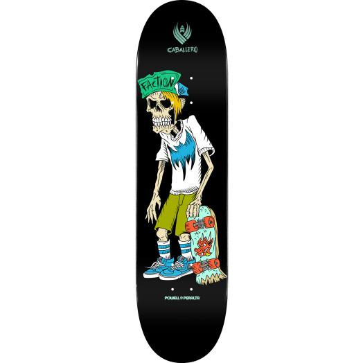 Powell Peralta Pro Steve Caballero Faction Flight® Skateboard Deck Shape 243 -  8.25x 31.95