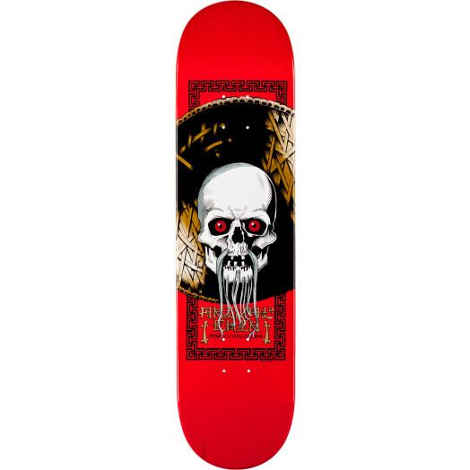 Powell Peralta Chin Skull Skateboard Deck - 8.25 x 32.5