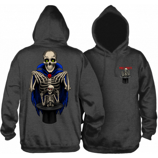 Powell Peralta Pro Blair Magician Hooded Sweatshirt Charcoal