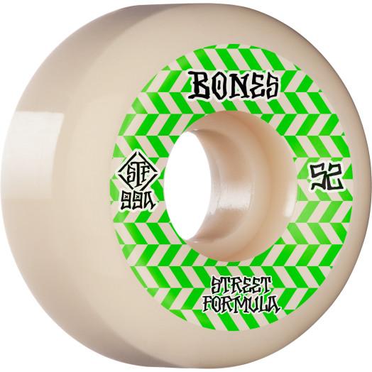 BONES WHEELS STF Skateboard Wheels Patterns 52 V5 Sidecut 99A 4pk