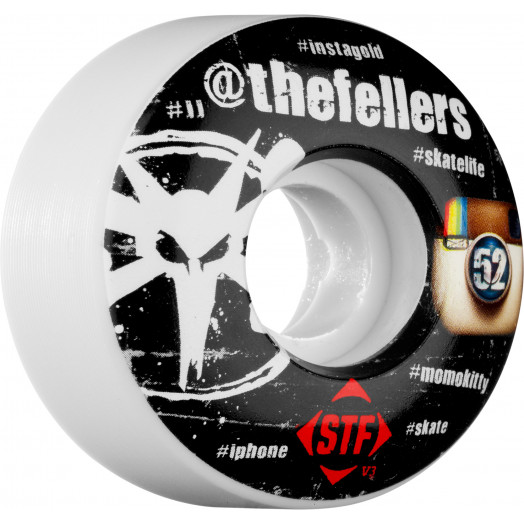 BONES WHEELS STF Pro Fellers #Hashtag 52mm (4 pack)