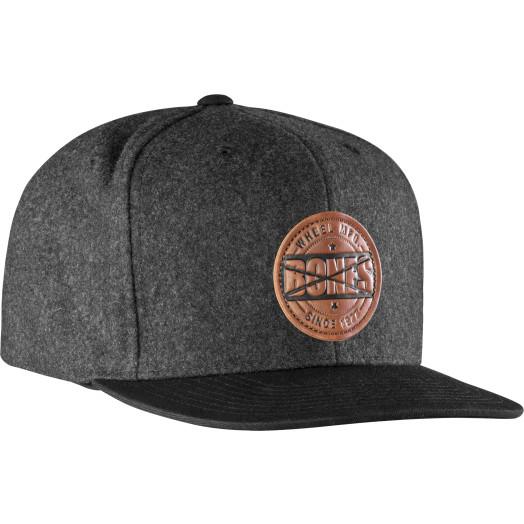 BONES WHEELS Wool Stamp Cap